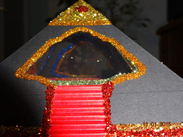 aufladen von bergkristallen in einer gebastelten pyramide reinigen aufladen und entladen von. Black Bedroom Furniture Sets. Home Design Ideas