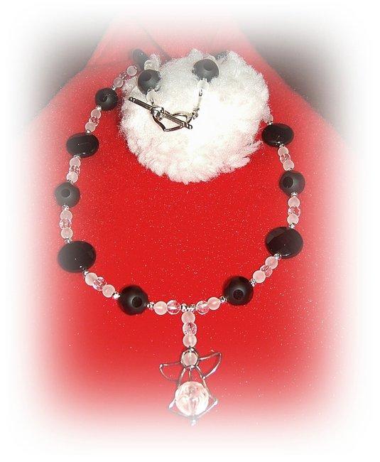 onyx mit bergkristall f r den weihnachtsmann galerie mein schmuck eigenes schmuckdesign. Black Bedroom Furniture Sets. Home Design Ideas