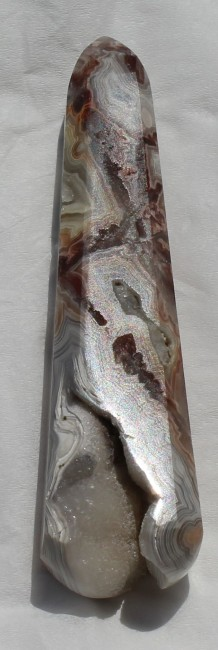 HAND POLISHED LAGUNA LACE AGATE WAND, MEXICO - 52.9 G.jpg