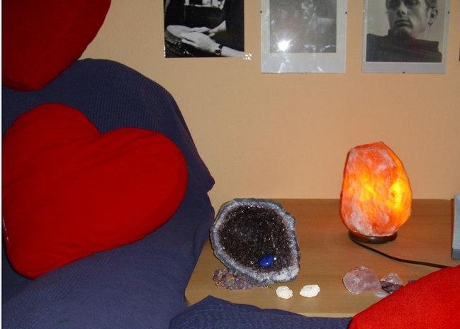 salzlampe und druse zusammen gef hrlich steinheilkunde. Black Bedroom Furniture Sets. Home Design Ideas